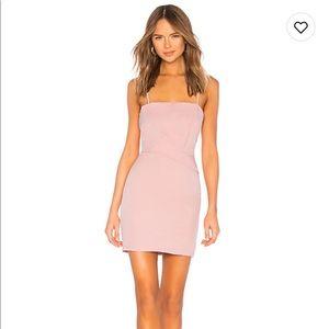 Superdown Pink Fitted Mini Dress